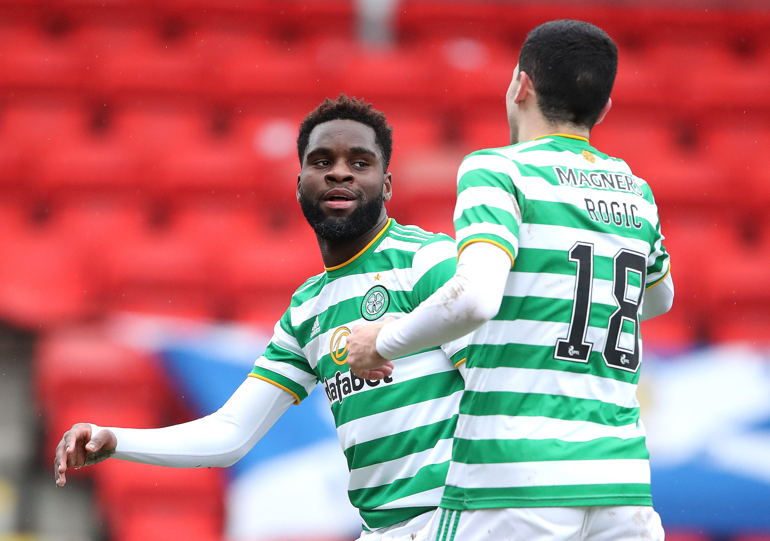 Odsonne Edouard did the business for Celtic today in Perth
