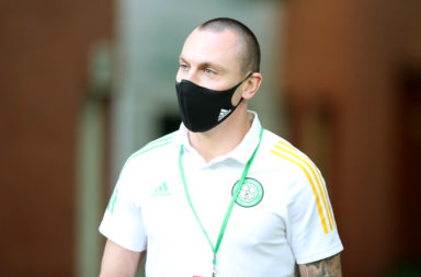 Scott Brown came on for Celtic last night