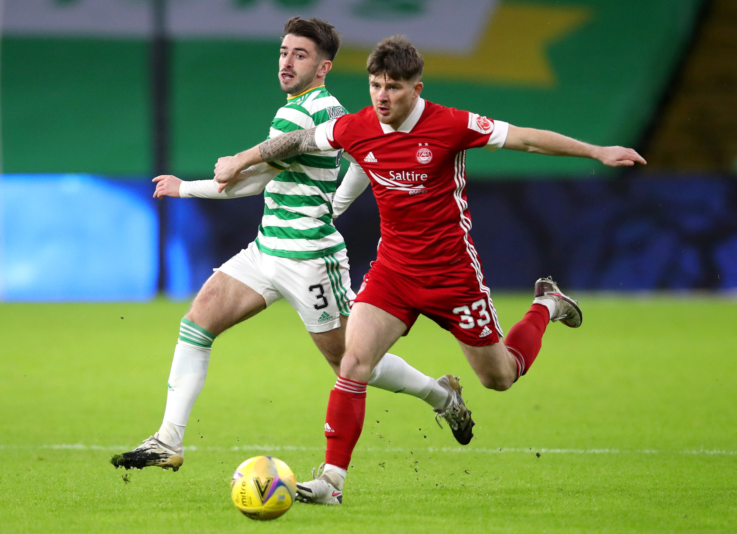 """""""I don't fear Celtic at all""""; Aberdeen man's confidence ..."""