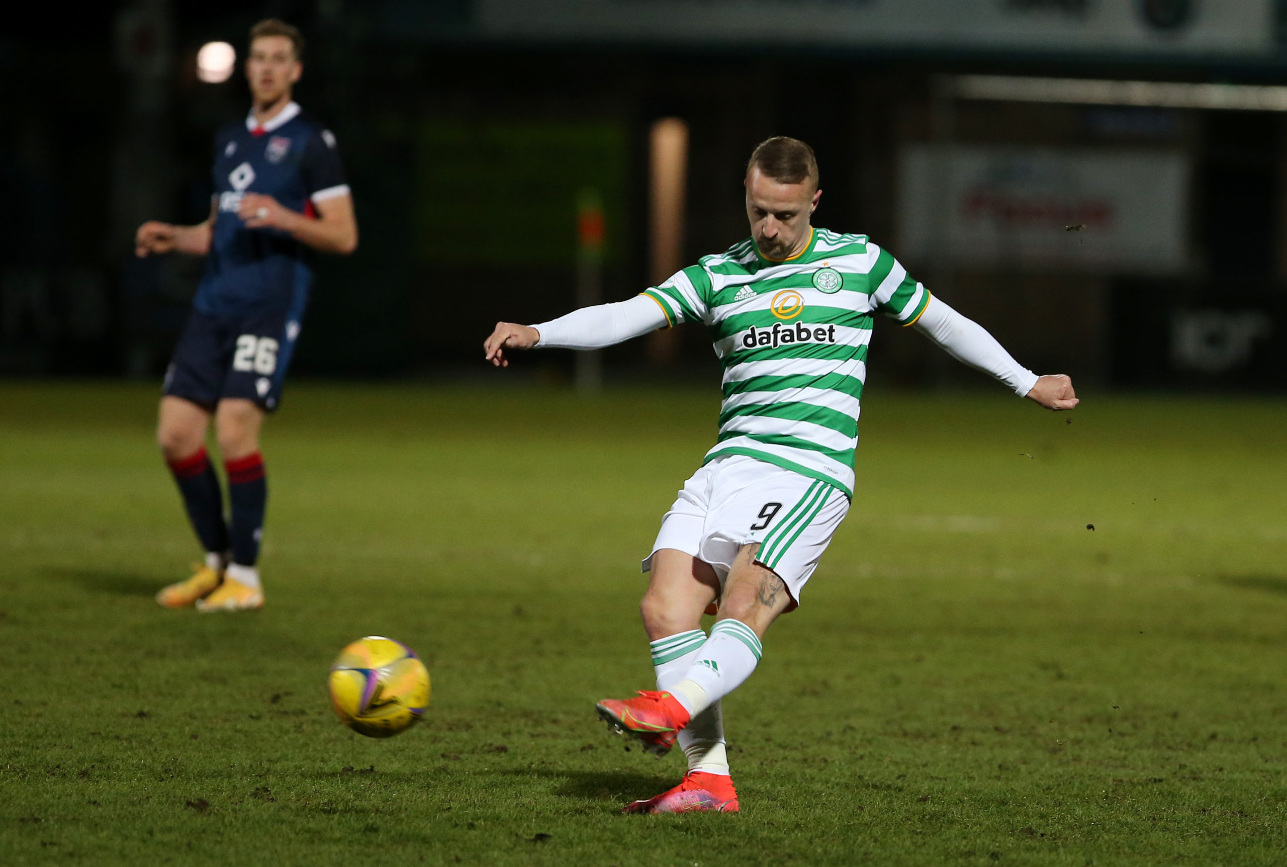 Leigh Griffiths came on for Celtic but it was too little too late