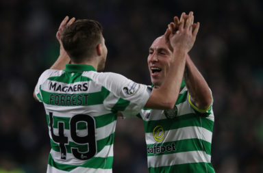 James Forrest and Scott Brown
