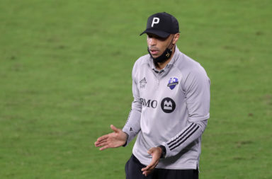 Former Montreal Impact manager Thierry Henry