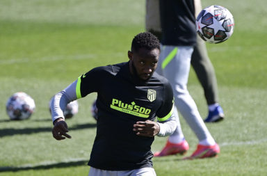 It was great to see Dembele back in training
