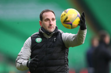 Celtic interim manager John Kennedy