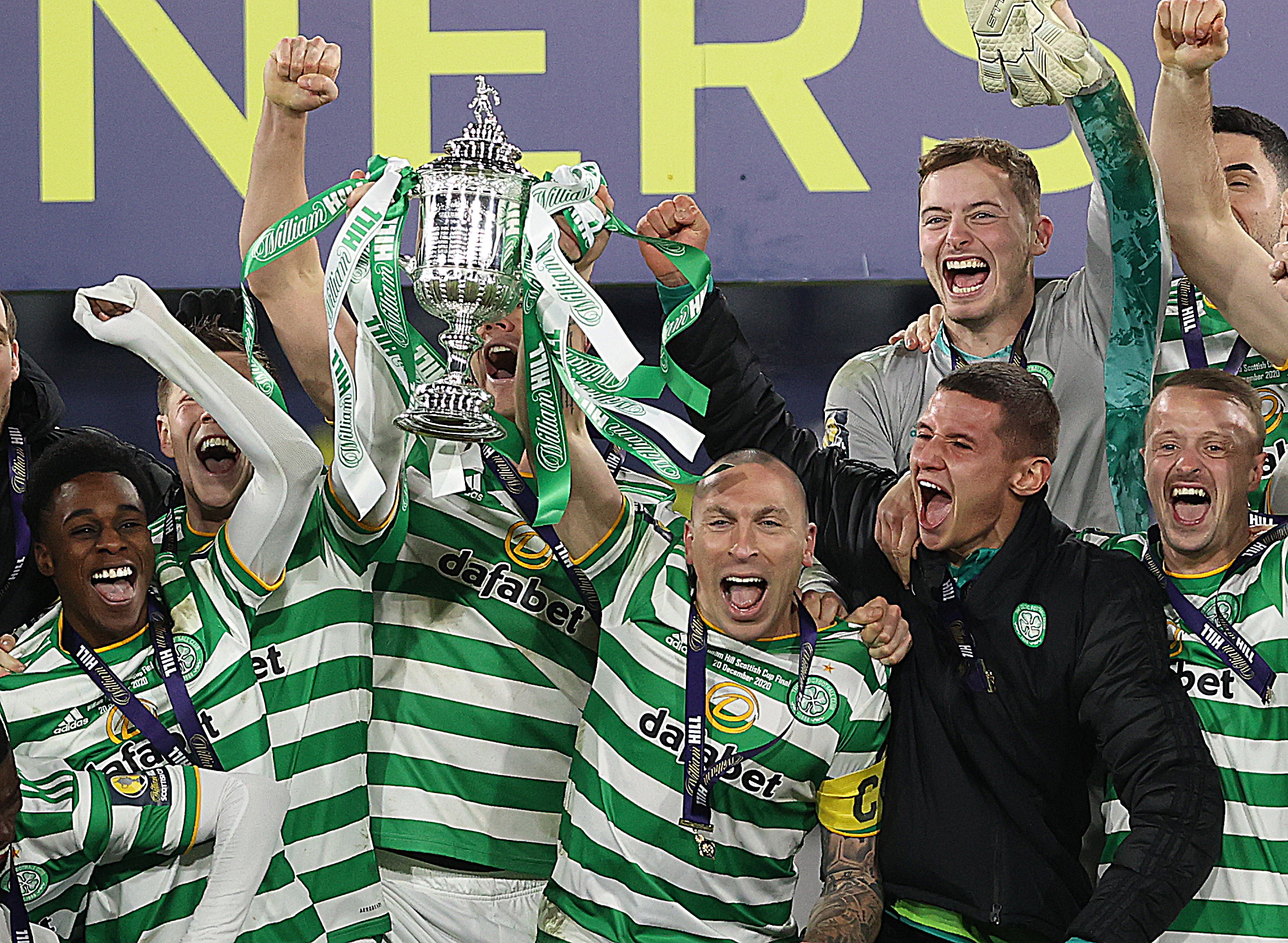 Scott Brown has lifted plenty of trophies at Celtic