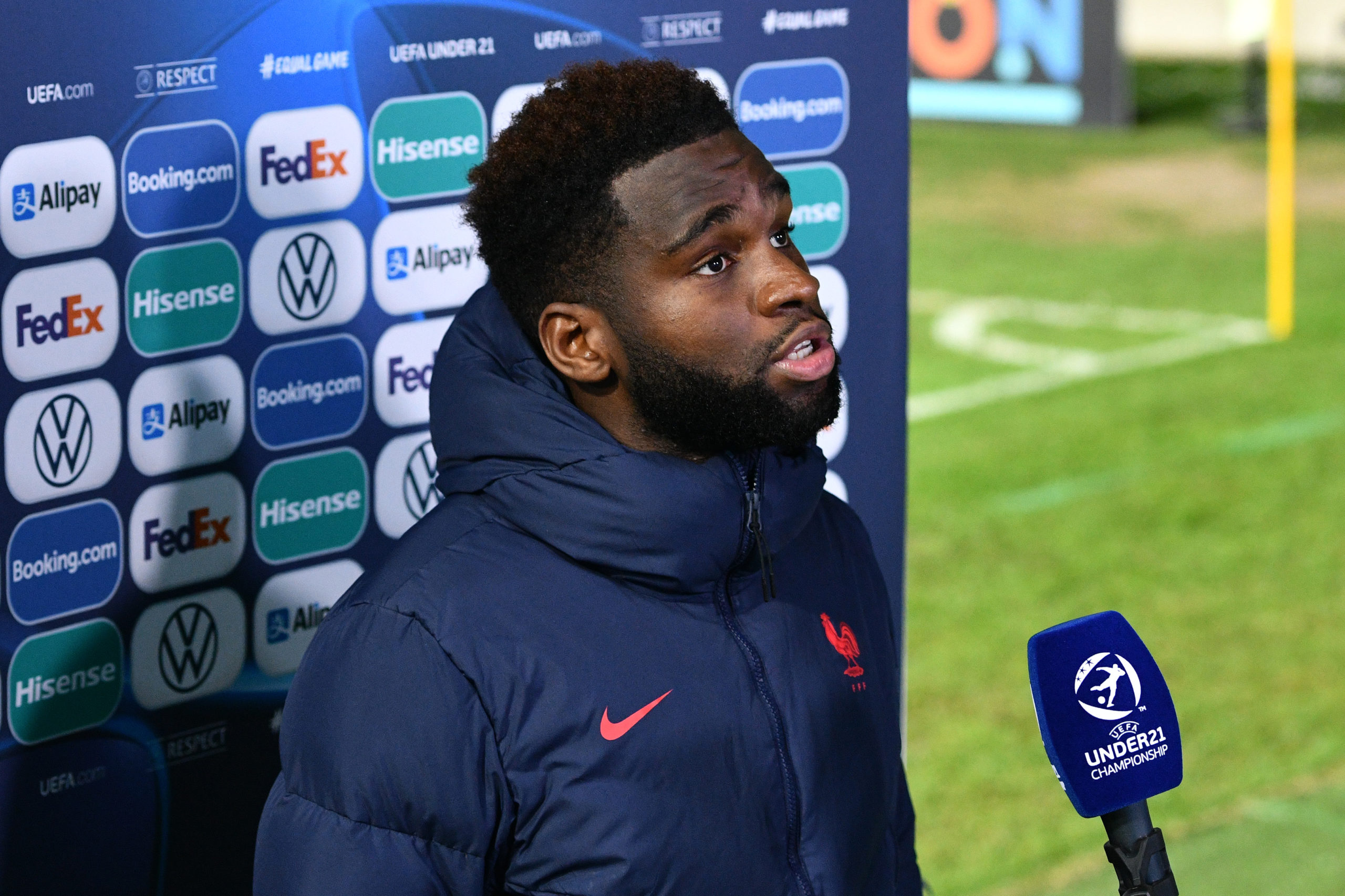 Odsonne Edouard is doing the business for France u-21s