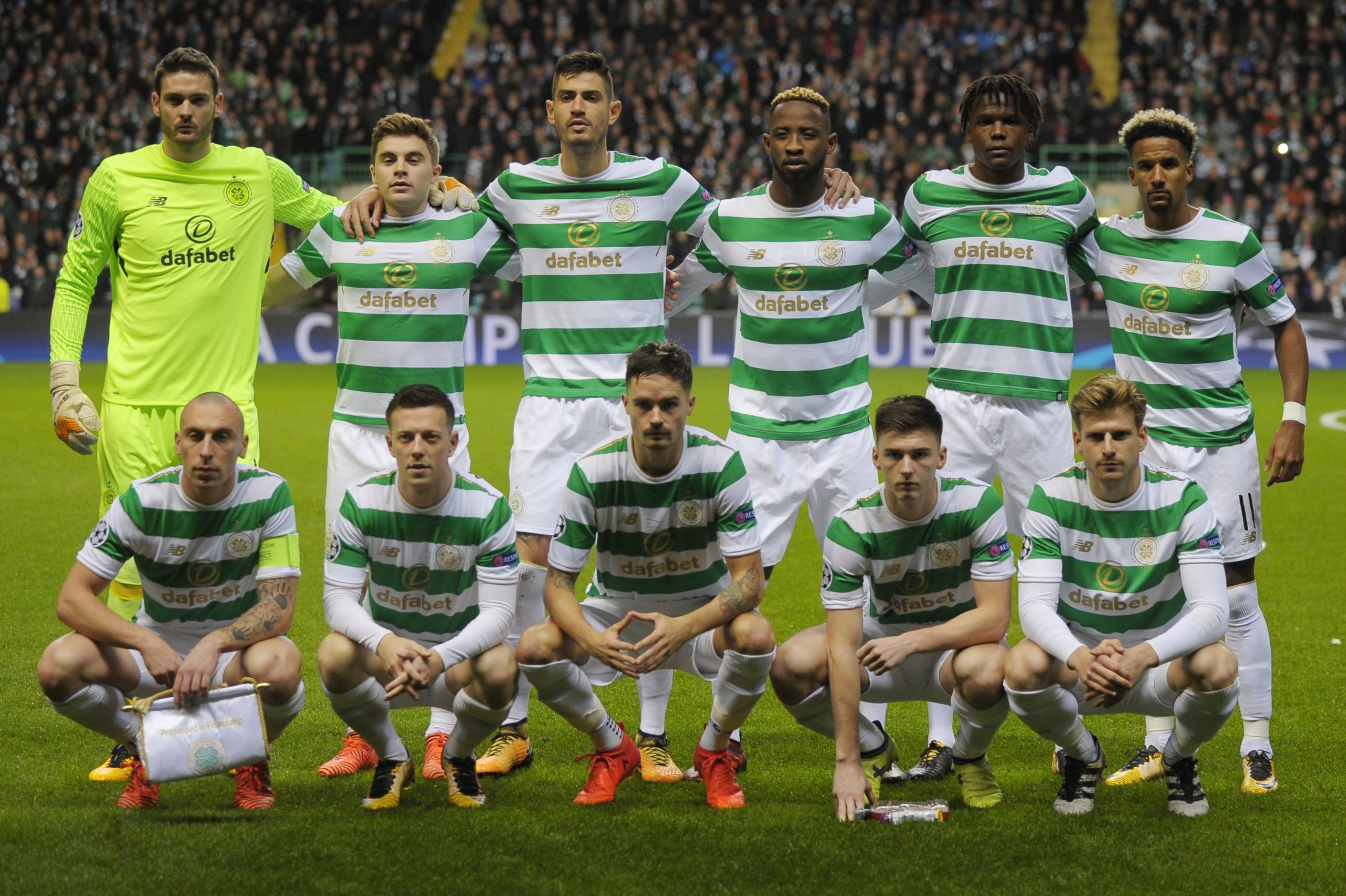 Tierney and Brown were part of a brilliant Celtic team