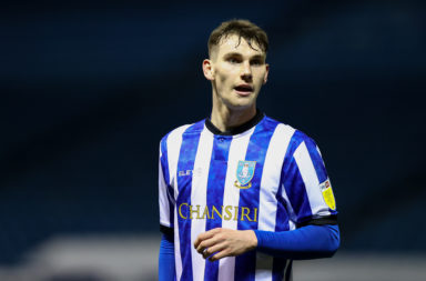 Sheffield Wednesday midfielder Liam Shaw