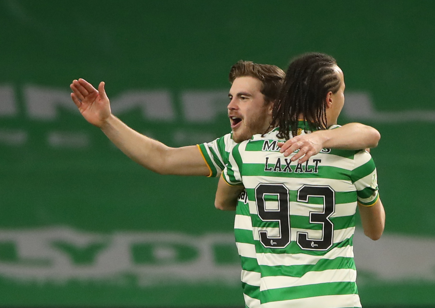 James Forrest and Mikey Johnston are on the mend