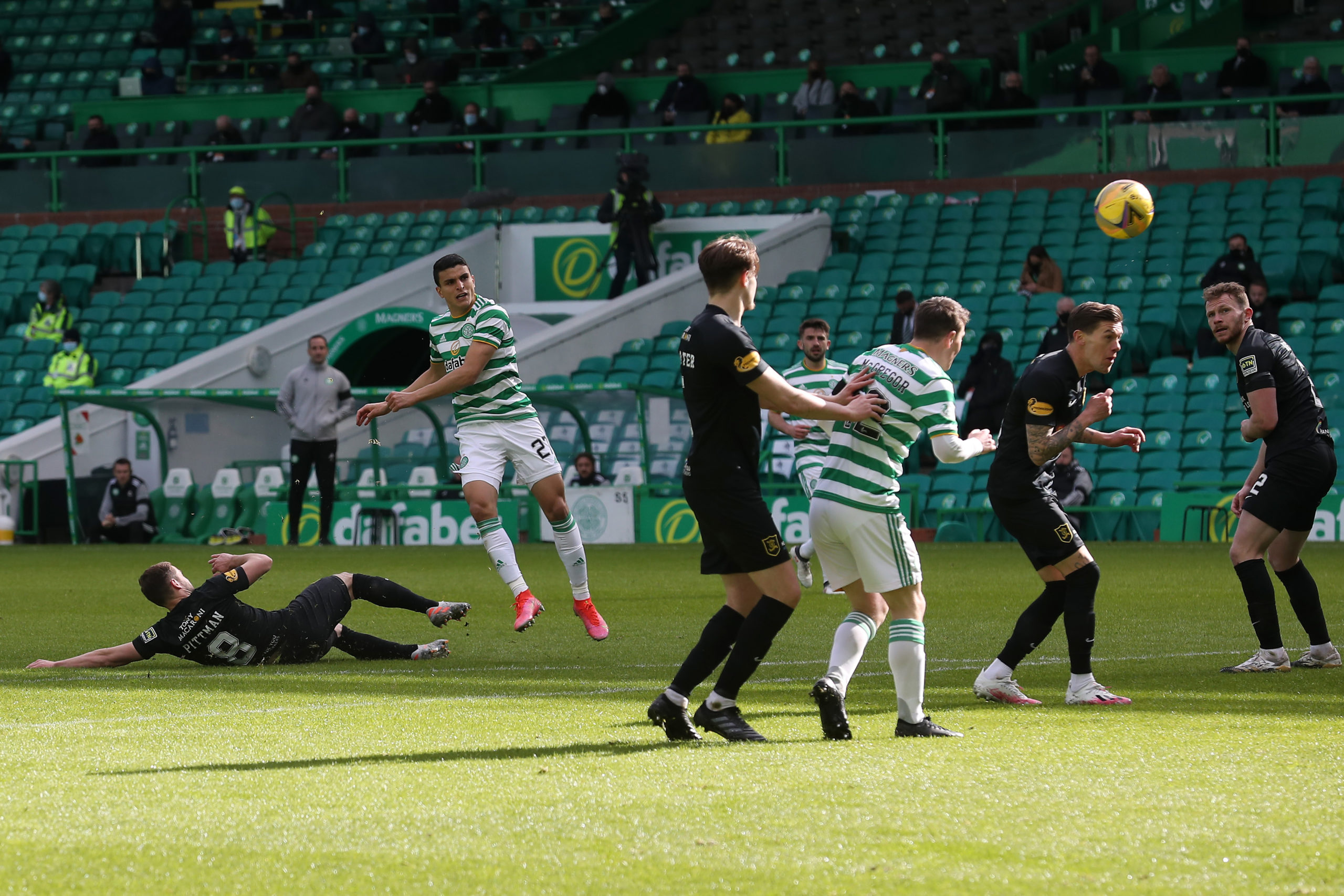 Celtic score another against Livingston