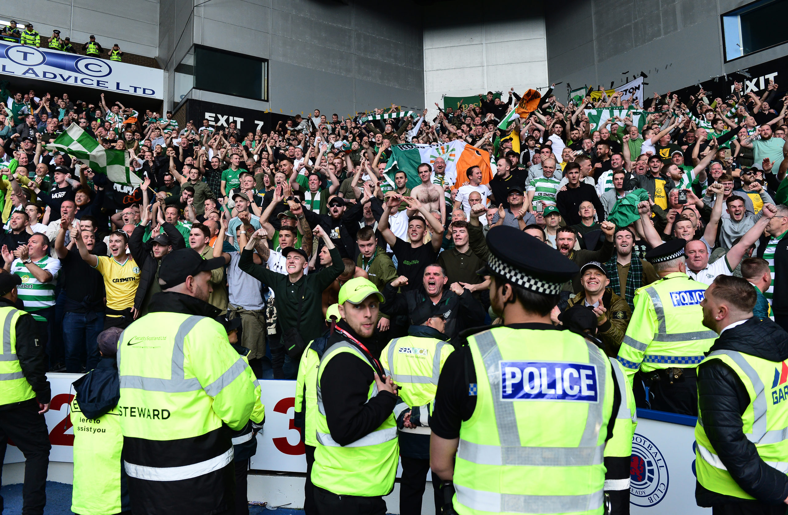Celtic's away-day allocation at Ibrox has dwindled