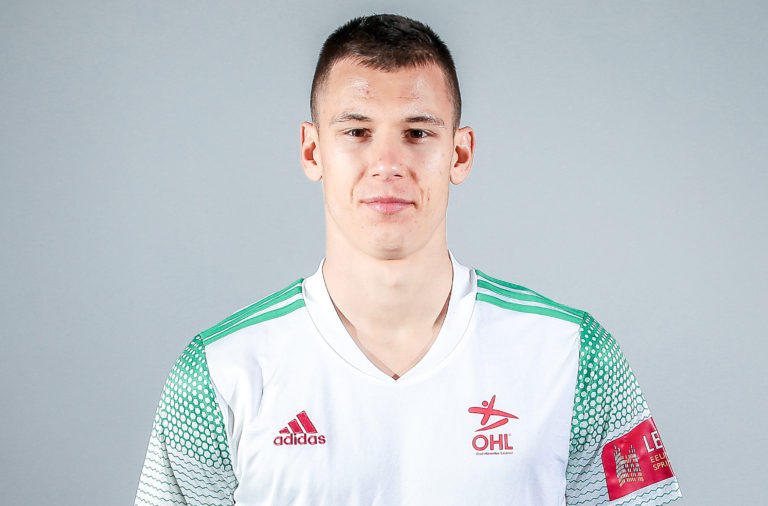 Filip Benkovic in OH Leuven colours