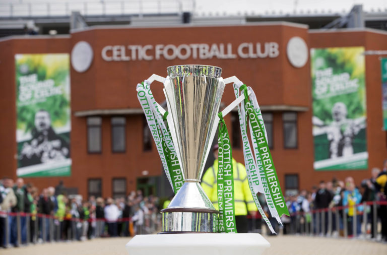Scottish Premiership trophy