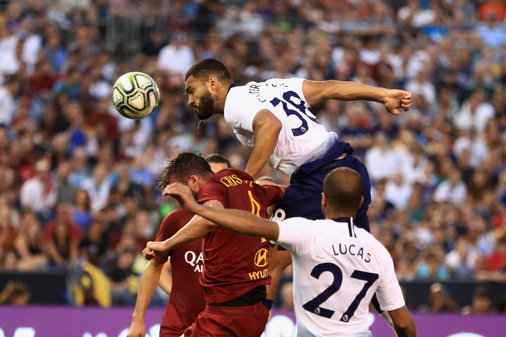 Spurs defender Cameron Carter-Vickers has been linked with Celtic, Bournemouth, and Newcastle