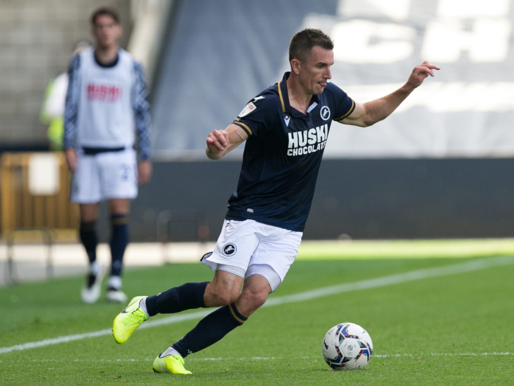 Millwall star Jed Wallace