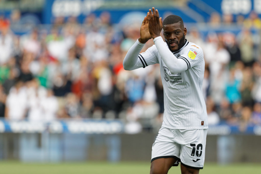 Olivier Ntcham takes the plaudits after 70-minute Swansea debut