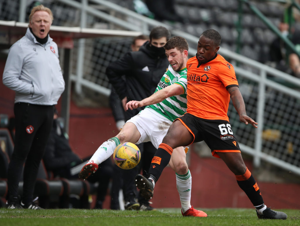 Jeando Fuchs has impressed more than once against Celtic